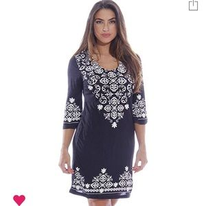3/4 Sleeve swimsuit Cover-Up